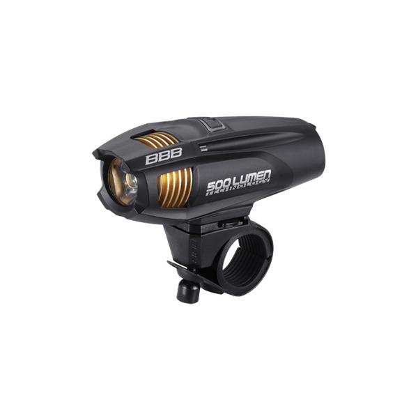 (BBB/ビービービー)ライト BBB ストライク500 ヘッドライト LED リチャージブル リチウムイオン バッテリー ブラック BLS-72