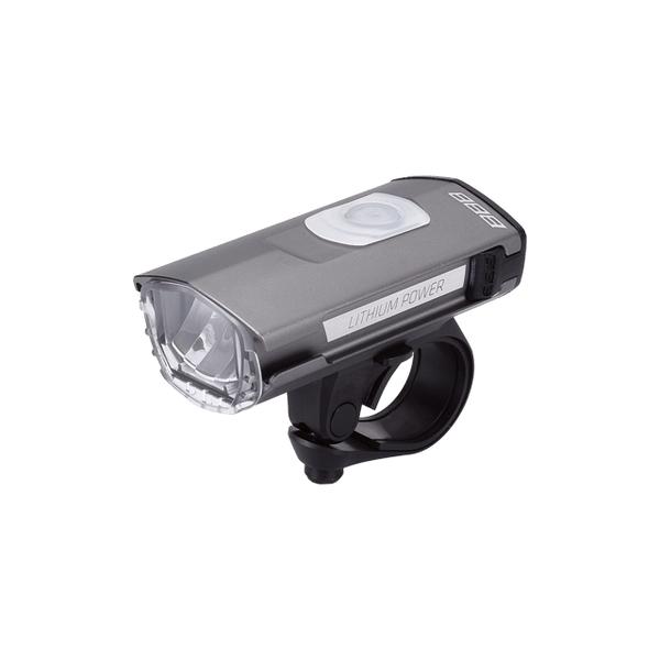 (BBB/ビービービー)ライト BBB ヘッドライト スワット Stvzo USB リチャージャブル グレー BLS-105K