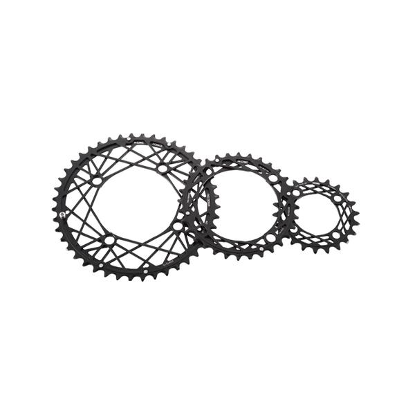 KCNC ケーシーエヌシー チェーンリング 自転車用 コブウェブシリーズ K-TYPE 58T/130 ロード レッド コンポーネント 自転車 サイクリング ロードバイク 自転車用パーツ サイクルパーツ