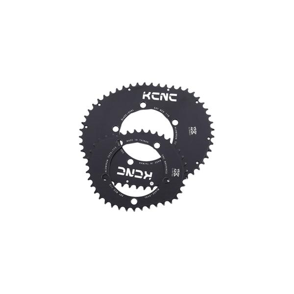 (KCNC/ケーシーエヌシー)チェーンリング KCNC ロードブレードシリーズ 53T/110 5アーム ゴールド