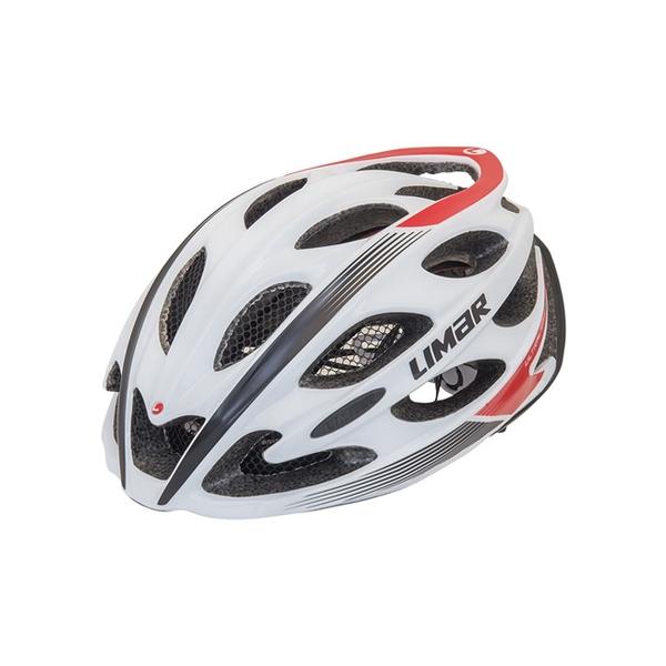 (LIMAR/リマール)ヘルメット ULTRALIGHT+ WHITE/BLACK/RED (THE WORLD'S LIGHTEST HELMET)