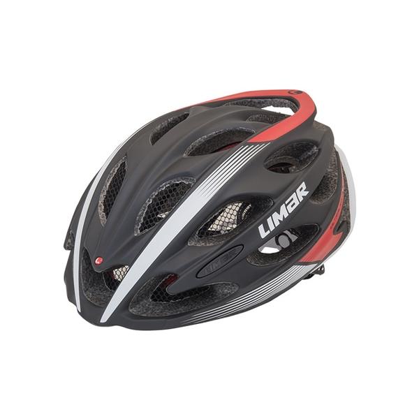 (LIMAR/リマール)ヘルメット ULTRALIGHT+ MATT BLACK/RED (THE WORLD'S LIGHTEST HELMET)