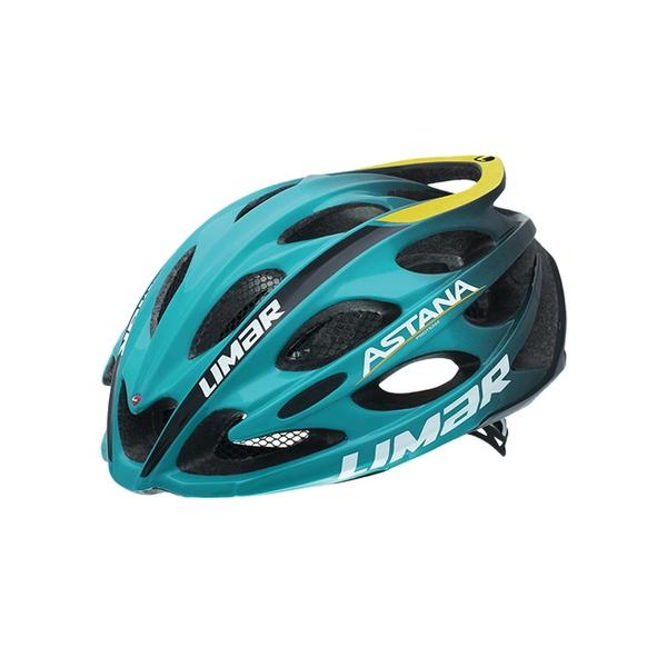 (LIMAR/リマール)ヘルメット ULTRALIGHT+ Team Color アスタナ プロチーム (THE WORLD'S LIGHTEST HELMET)