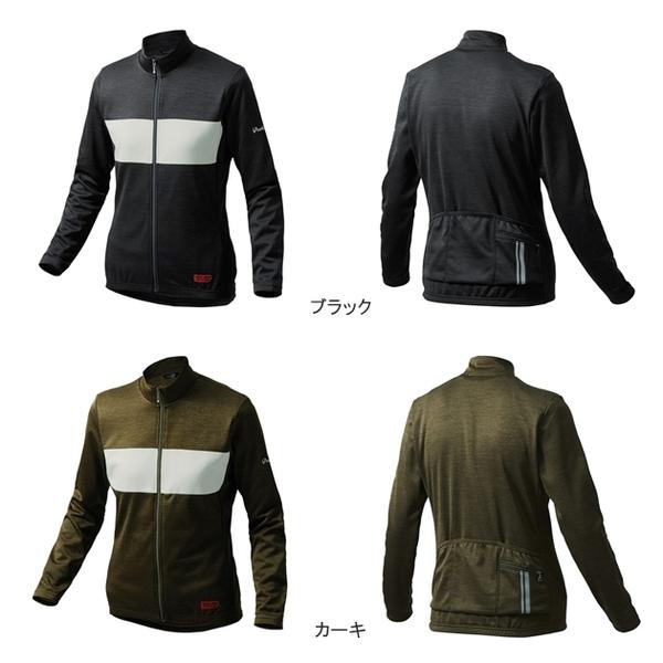 (PEARLiZUMi/パールイズミ)シティライド チェストストライプ ジャージ (W9335-BL)