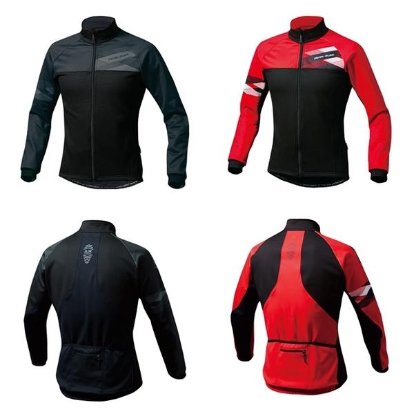 PEARL IZUMI パールイズミ ウィンドブレーク ジャケット ワイドサイズ B3500-BL ウインドブレーカー ウェア サイクリングウェア 冬 サイクルウェア ロードバイクウェア 長袖 メンズ サイクリングジャージ サイクルジャージ