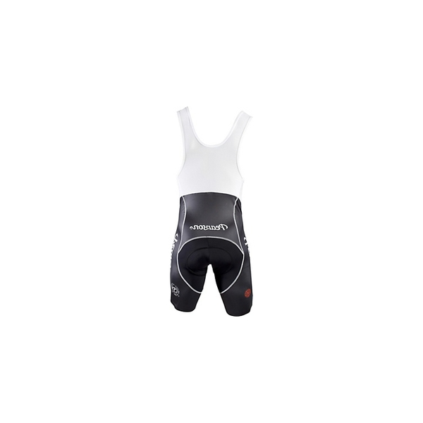 (Pearson/ピアソン)Pearson Black and White Bib Shorts