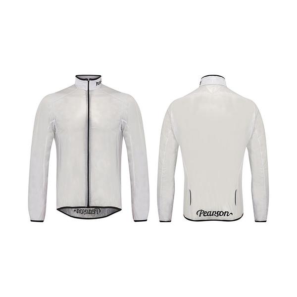(Pearson/ピアソン)See It Through White Jacket ジャケット ウインドブレーカー アウター ウェア サイクリングウェア サイクルウェア ロードバイクウェア ユニセックス 男女兼用 長袖