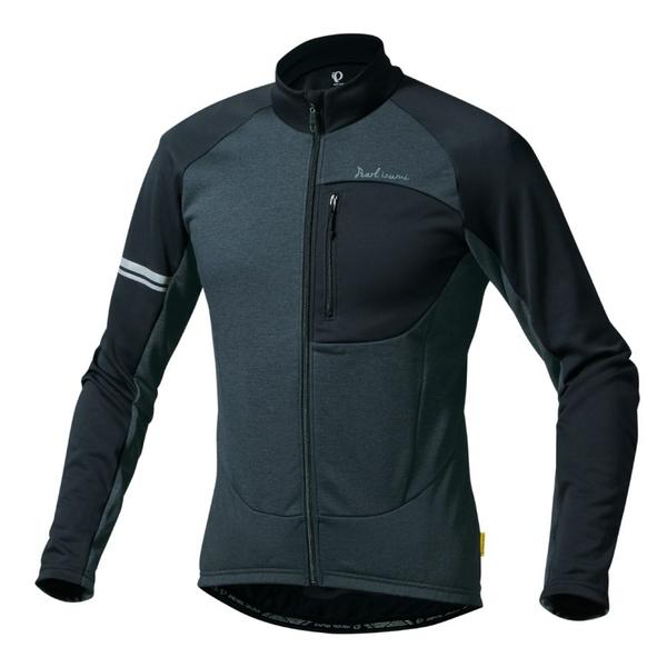 (PEARLiZUMi/パールイズミ)オルタナ ジャージ (3112-BL) ブラック ウェア サイクルジャージ サイクリングジャージ サイクリングウェア サイクルウェア ロードバイクウェア メンズ 長袖