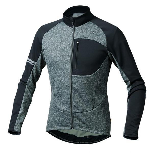 (PEARLiZUMi/パールイズミ)オルタナ ジャージ (3112-BL) グレー ウェア サイクルジャージ サイクリングジャージ サイクリングウェア サイクルウェア ロードバイクウェア メンズ 長袖