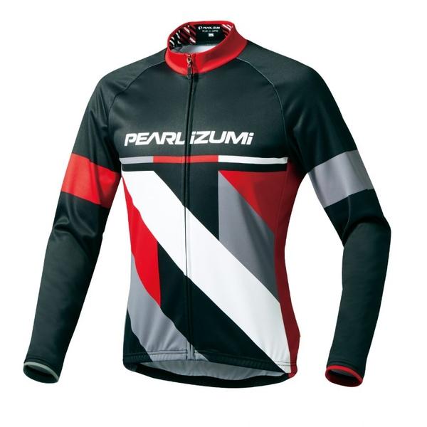 (PEARLiZUMi/パールイズミ)プリント ジャージ (ワイドサイズ) (B3455-BL) パールイズミ ウェア サイクルジャージ サイクリングジャージ サイクリングウェア サイクルウェア ロードバイクウェア