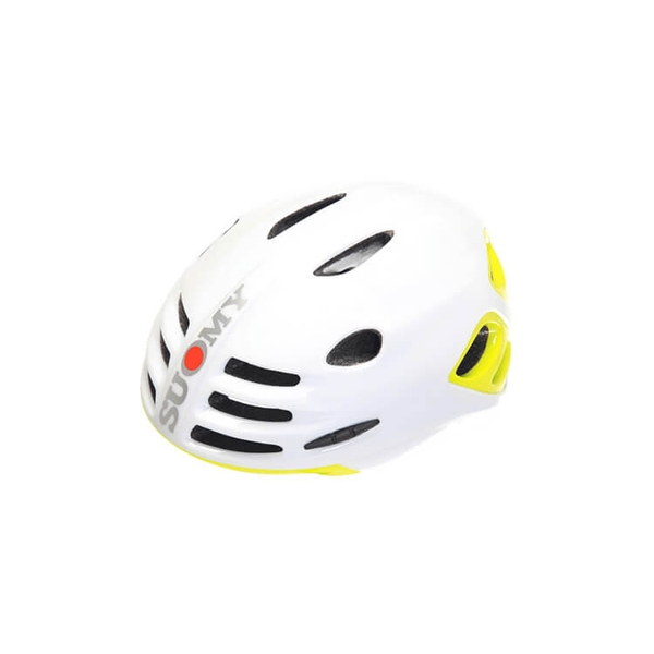 (SUOMY/スオーミー)ROAD SFERA WHITE GLOSSY/YELLOW FLUO GLOSSY (C1SF0007)