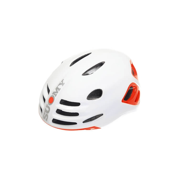 (SUOMY/スオーミー)ROAD SFERA WHITE GLOSSY/ORANGE FLUO GLOSSY (C1SF0009)