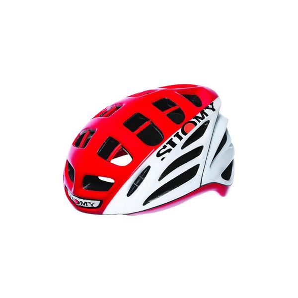 (SUOMY/スオーミー)ROAD RACING GUNWIND HV WHITE/RED (C1GW00007)