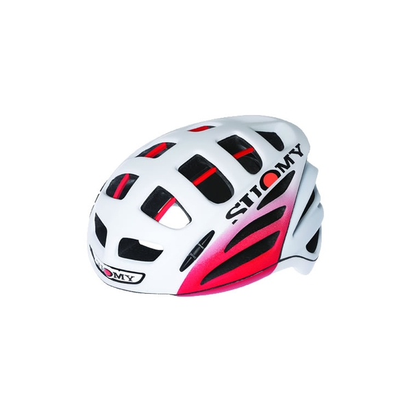 (SUOMY/スオーミー)ROAD RACING GUNWIND ELEGANCE WHITE/RED MATT (C1GW00004)