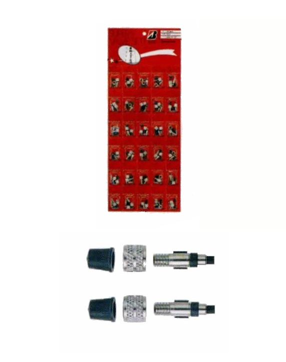 ブリヂストン 虫ゴム不要のスーパーバルブ 30パック (虫ゴム) BRIDGESTONE VS-5 A710005 P3278