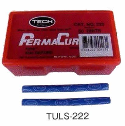 テック パーマキュア バイク用チューブパッチ 太タイプ 50本入り TT-215.TT-216用(パンク修理) TECH PERMA CURE SEAL REPAIRS TULS-222 A692601 P3330 BRIDGESTONE ブリヂストン