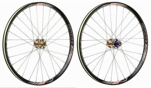 SUNringle ADD PRO 26inch ETRTO:559 Front+Rear Wheel set Color: Black ( MTB用 フロント+リア 完組ホイールセット ) サンリングル ADDプロ 26インチ ホイール前後セット カラー: ブラック SUNringle SS02P02dec12