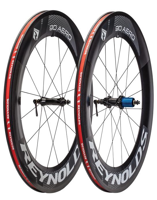 REYNOLDS AERO90 Carbon Rim Clincher Wheel Set ( 2013年モデル AEROシリーズ 完組前後ホイールセット ) レイノルズ エアロ90 カーボンリム クリンチャーホイールセット SS02P02dec12