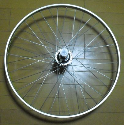ブリヂストン 内装5段完組リアホイール 26x1-3/8 エグゼシティ26エグゼ5 NEX65S 用 ( 26インチ 完組リアホイール ) BRIDGESTONE EXE 自転車 サイクリング 自転車用パーツ