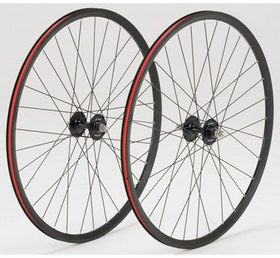 GRAN COMPE シングルスピード&トラック用完組ホイール (I-Wheel) 前後輪セット カラー:ブラック (完組ホイール前後輪セット) DIA-COMPE ダイアコンペ グランコンペ WHEEL BLACK