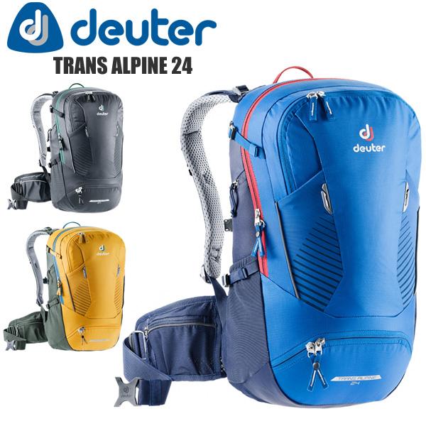 deuter ドイター リュック D3205020 トランスアルパイン24 バックパック バイクパック 自転車 サイクリング アウトドア バッグ カバン