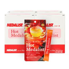 【メーカー取り寄せ商品】 【送料無料】 アリスト ホットメダリスト 24袋セット 顆粒4.5g×6本×24袋セット MEDALIST