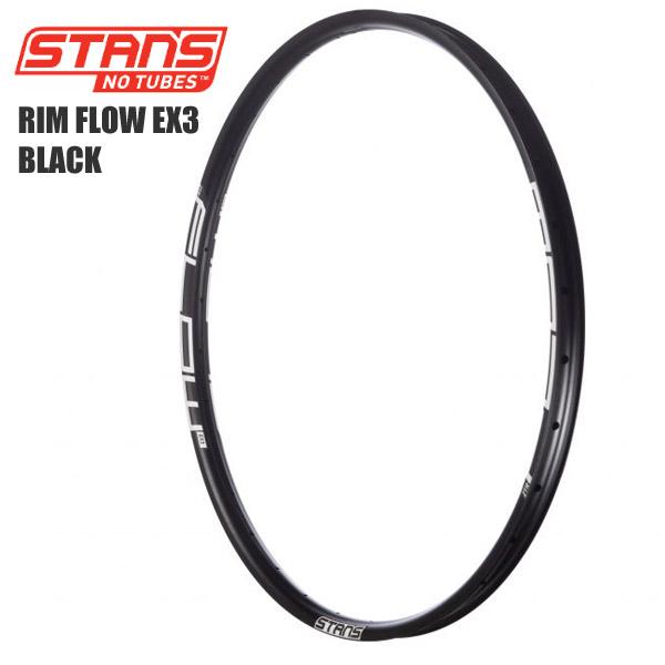 Stans NoTubes スタンズノーチューブ RIM FLOW EX3 BLACK サイクルパーツ 自転車