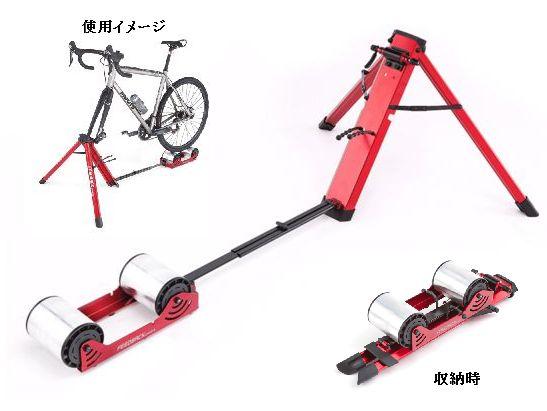 【送料860円無料】 Feedback Sports Portable Bike Trainer ( 自転車ローラー台 ) フィードバックスポーツ ポータブルバイクトレーナー 前輪固定式トレーナー Omnium Portable Trainer