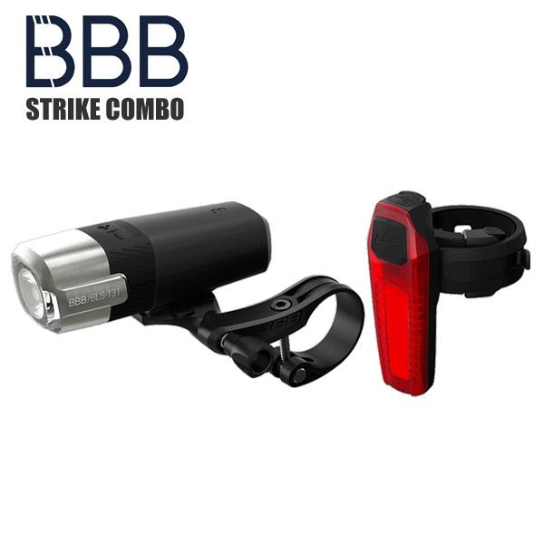 <title>BBB ビービービー 信用 ヘッドライト テールライト 自転車 ストライクコンボ BLS-133</title>