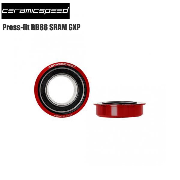 CERAMICSPEED セラミックスピード BB Press-fit BB86 スラムGXP【COATED】 ボトムブラケット BB ロード バイク 自転車