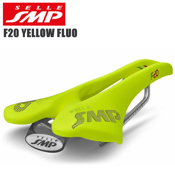 <title>SELLE SMP セラエスエムピー サドル ロードバイク セール特価 F20 YELLOW FLUO</title>