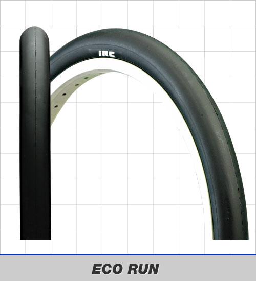 IRC ECO RUN 20x1.75 TUBE TYPE (サーキット走行専用クリンチャータイヤ) アイアールシー エコ ラン チューブタイプ エコランタイヤ 井上ゴム工業