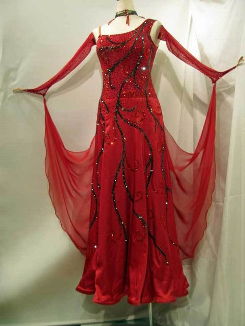 【中古】【値下げしました!!】チョイスロンドン社交ダンススタンダードドレスイヤリング付きSMサイズ《ご試着中》