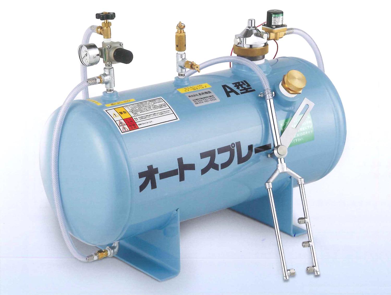 製材機器用給油装置 オートスプレー ツインバンドソー用