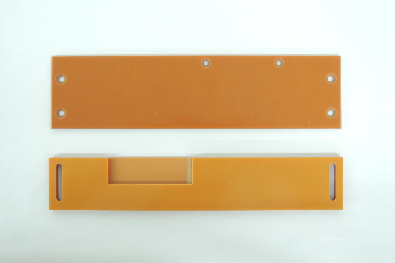 愛知電機 目地払い機 V2-3型用 ベークライト定規