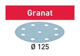 FESTOOL フェスツール フェスツールサンドペーパー Granat 高級品 上品 各種 型番497168~497182 D125 粒度P100~P1500