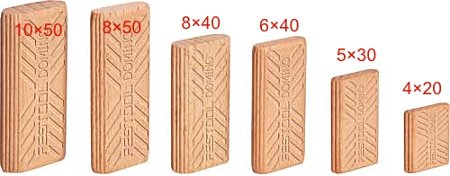 フェスツールドミノチップ 10×50510個 型番493300