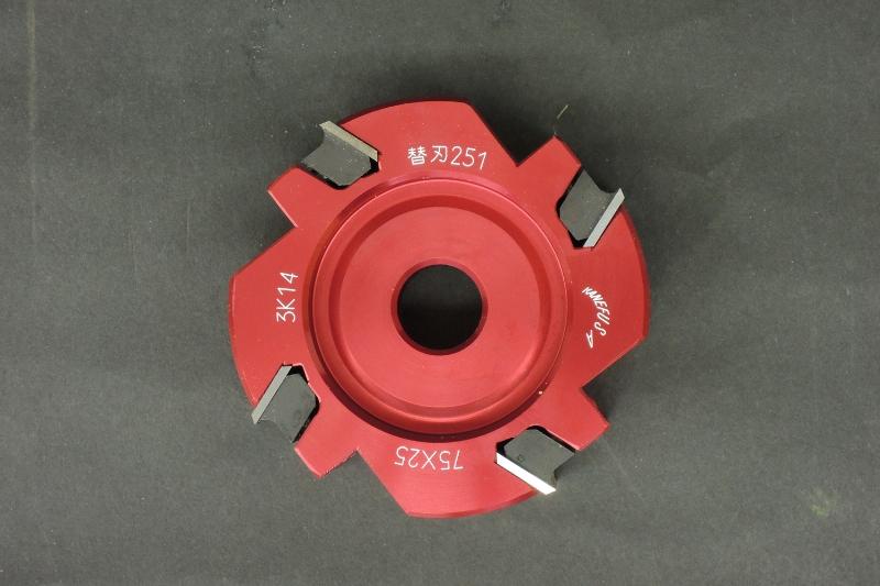 愛知電機 目地払い機 V2-3型用 替刃式カッター 4P*75φ*12厚