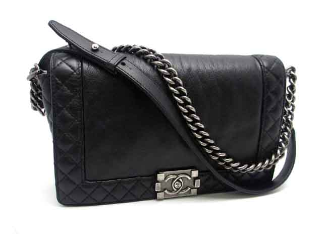 39c9d9732672 DAIKOKUYA: CHANEL BOY CHANEL CHAIN SHOULDER BAG | Rakuten Global Market