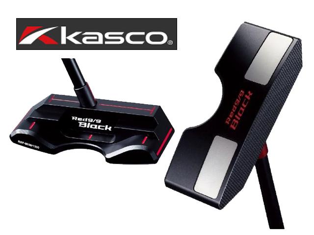 KASCO キャスコ Red9/9 Black ピンタイプ パター アカパタブラック 34インチ パター メンズ GH08055【大黒屋質店出品】