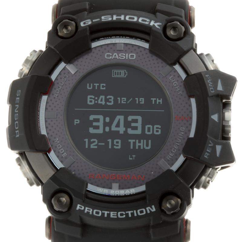 【飯能本店】 カシオ G-SHOCK (Gショック) レンジマン メンズ 腕時計 GPR-B1000 ステンレススチール デジタル文字盤 DH55108【大黒屋質店出品】 【中古】【送料無料】【店頭受取対応商品】