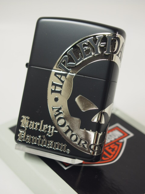 Zippo lighters: Zippo Harley //Harley Davidson / / HDP-32 ☆ four