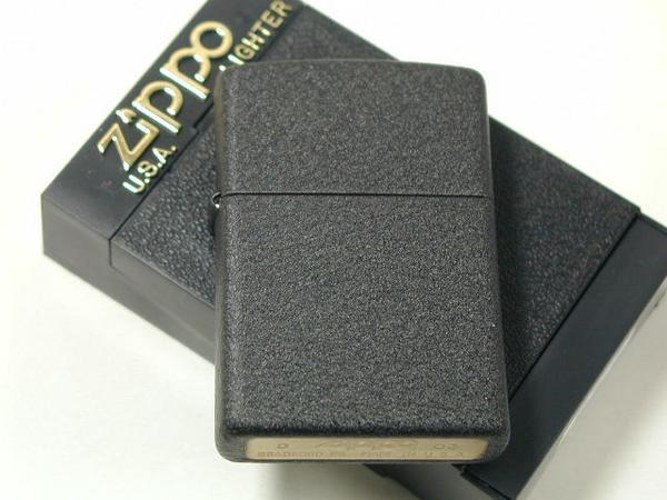 大人気 復刻モデル ジッポーライター: Zippo ブラッククラックル プレイン #236 Black Crackle 国内在庫 WW2 黒 レギュラー 母の日 ジッポー ラッピング あす楽対応 店 ギフト ライター 無地 ダルマヤ プレゼント ジッポ 父の日
