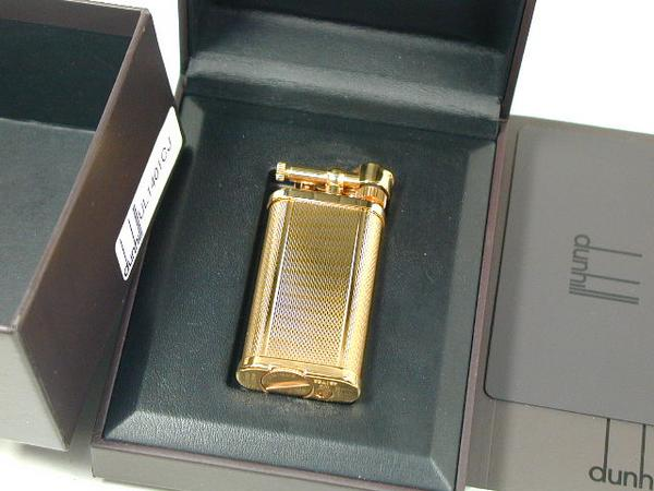 "Dunhill lighters: DUNHILL Dunhill / / unique / / Gold #UL1401? s Unique""★ rare! ★"