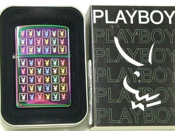 집포라이타: Zippo 플레이 보이 Playboy 스펙트럼무지개색 151☆기려!!☆