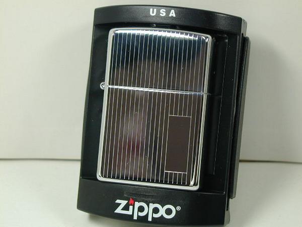 집포라이타: Zippo 엔진 턴 Engine Turned //양면 세로의 줄무늬//하이포리#350실버색★스트라이프★
