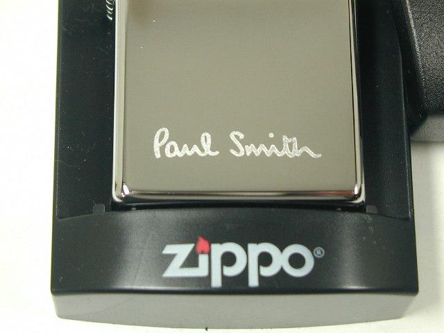 집포라이타: Zippo 폴 스미스 로고#250♪하이포릿슈크로무♪레귤러★희소!!★