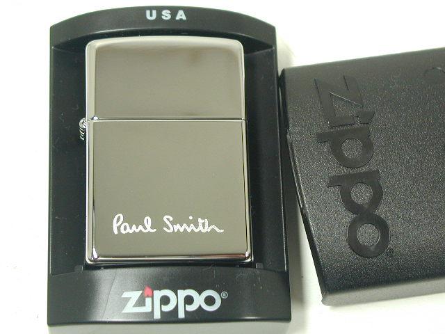 Zippo lighters: Zippo # 250 Paul Smith logo ♪ high Polish chrome ♪ regular ★ rare! ★