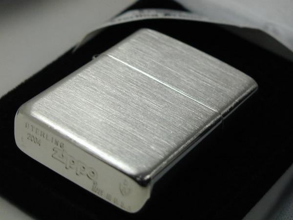 Zippo 打火机: Zippo 盔甲纯银固体 / / 925 纯银 / / 盔甲纯银案例 # 27 纯银平原定期 ☆ 华丽! ☆