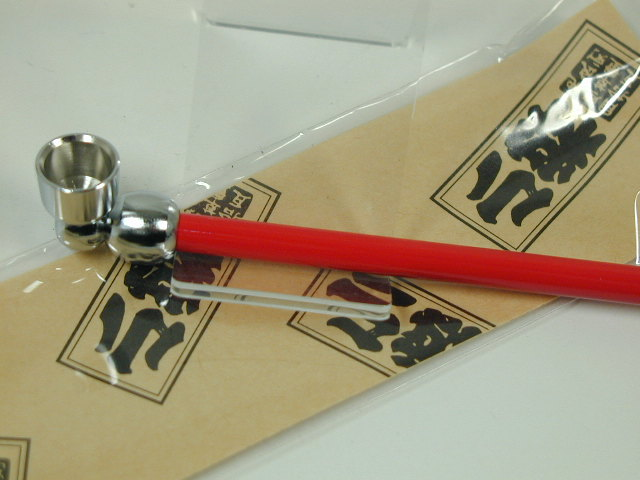 話題の逸品 日本製 手造り 煙管 きせる 小粋 こいき おトク 122mm 粋 あす楽対応 キセル 赤色 セール品 レッド ダルマヤ